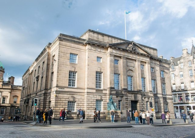 A range of measures to protect the safety of all involve at the High Court in Edinburgh (pictured) and Glasgow.