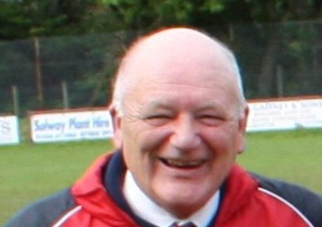 Many tributes have been paid to Dalbeattie Star honorary president Frankie Styles (pic courtesy of Dalbeattie Star FC)