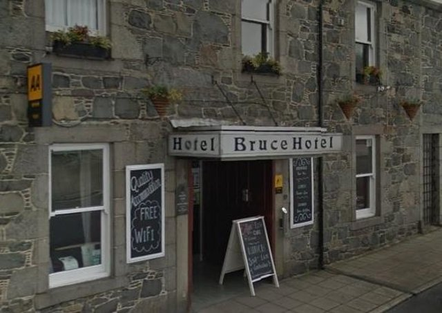The Bruce Hotel in Newton Stewart (archive picture)