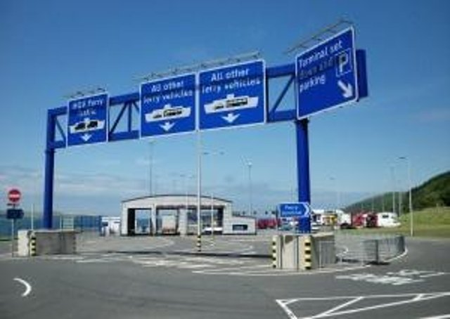 There are fears there will be delays at Cairnryan is the UK leaves the EU without a trade deal