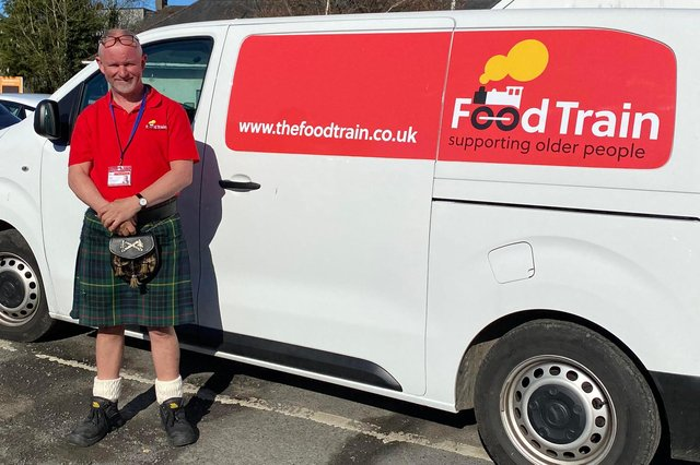 Iain Dick will follow the route of the Galloway Milk Marathon he completed nearly 40 years ago