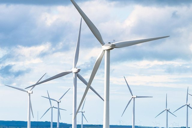 The wind farm has consent for up to 18 turnbines