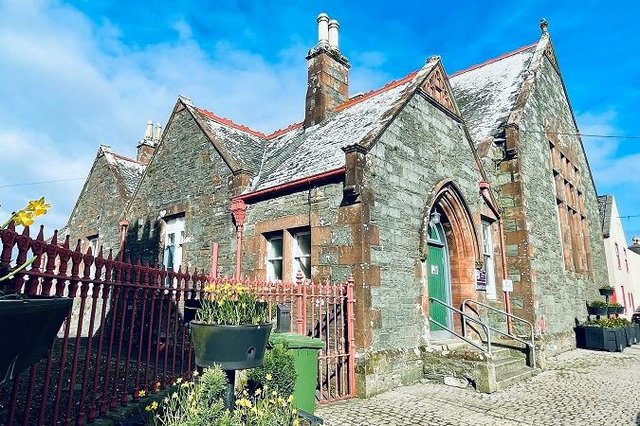 Whithorn's new Town Hall Hub and Bunk House project is underway