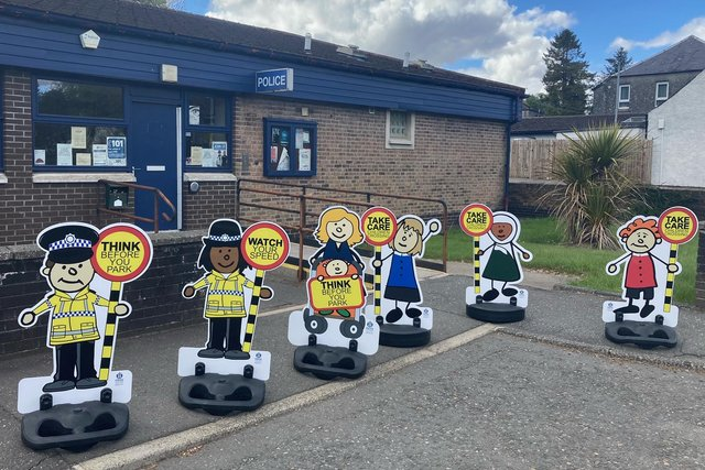 The Pop-up Bairnswill be used in joint school traffic patrols