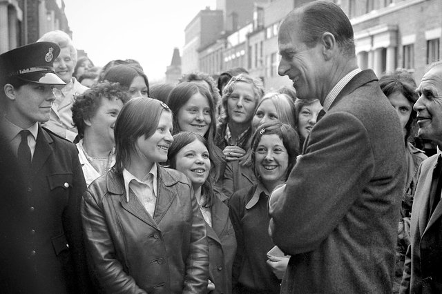 Did you ever meet Prince Philip?