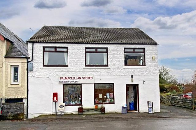 The store and dwellinghouse are situated in a central position within the pretty village