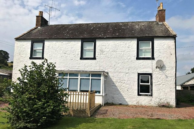 The farmhouse offers three/four bedroomed accommodation