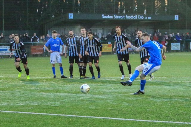 Threave Rovers and Stranraer have battled it out for the South of Scotland League title for the last two seasons with no champion declared (pic: Bill McCandlish)