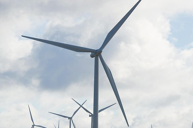 The nine turbines would be located two miles north-west of the village of Corsock (stock pic)