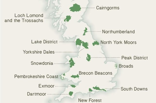 Could we see a new national park added to those which already exist across Great Britain?