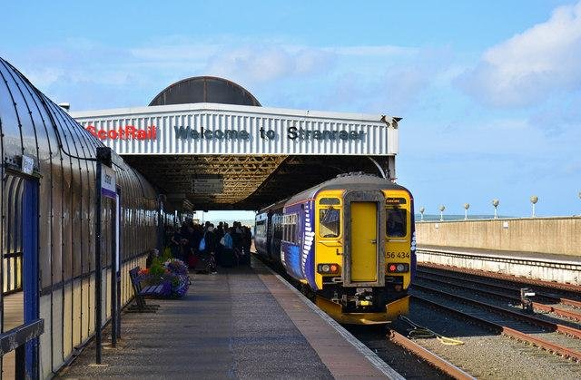 Stranraer could be linked to Dumfries by rail once again