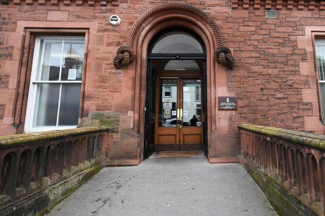 Dumfries Sheriff Court will be sitting on Monday