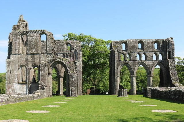Dundrennan Abbey has been closed since December. © Copyright Billy McCrorie and licensed for reuse under Creative Commons Licence