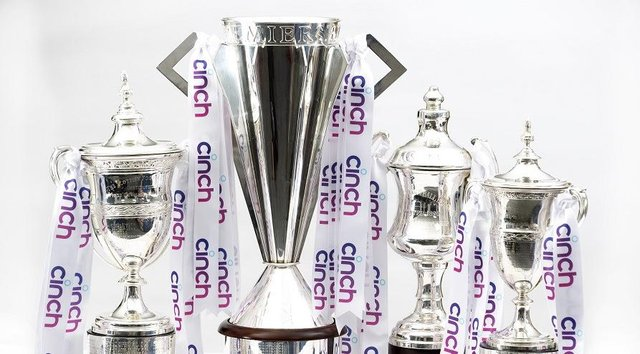 The SPFL trophies