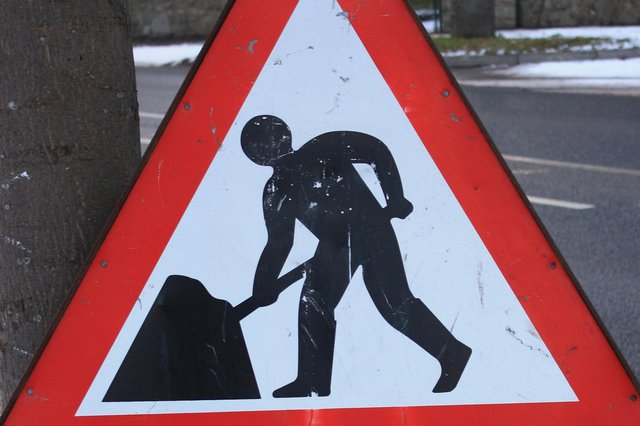 Work on the A75 will begin on Friday