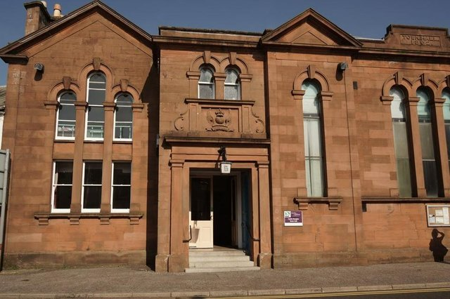 Castle Douglas town hall is among the venues. © Copyright Anthony O'Neil and licensed for reuse under this Creative Commons Licence