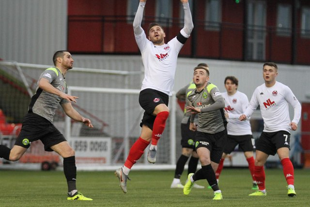 Stranraer last played at Clyde in January 2020
