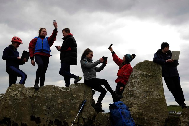 The young people take to social media to push for a new national park in Galloway