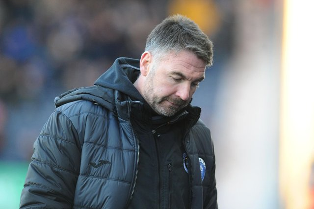 Stevie Farrell has left his post as Stranraer manager to join Dumbarton