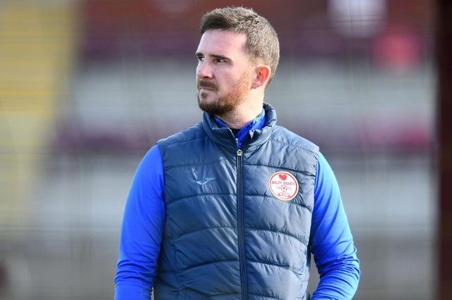Former Rangers and Scotland skipper Barry Ferguson is manager at Kelty Hearts