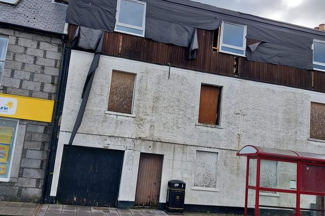 The Grapes Hotel is rapidly falling into a state of disrepair