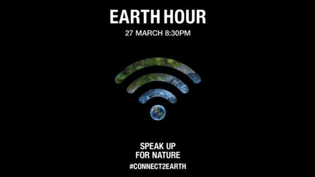 Earth Hour takes place on Saturday