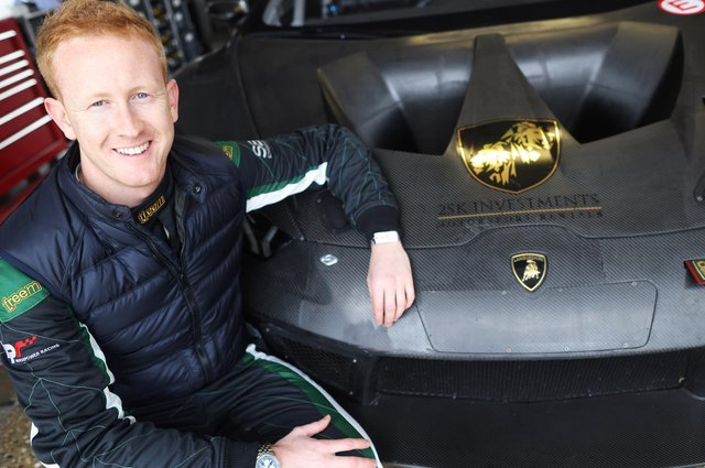 Ross Wylie will be driving the iconic Lamborghini GT3 sportscar in this year's British GT Championship.