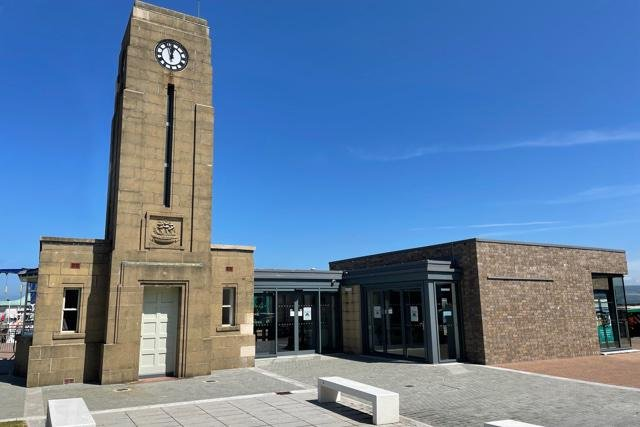 Gateway to Galloway is based in the refurbished former harbour master building