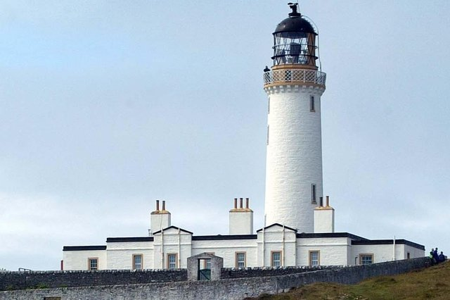 Mull of Galloway Lighthouse sits on Scotland's most southerly point