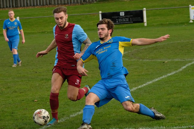 Creetown in action in a match against Whitehill Welfare
